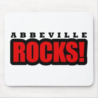 Diseño de Abbeville, Alabama Tapetes De Ratones