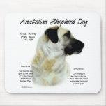Diseño de Anatolia de la historia del perro de pas Alfombrilla De Ratón