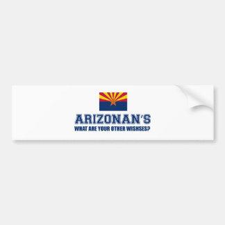 Diseño de Arizona Pegatina Para Auto