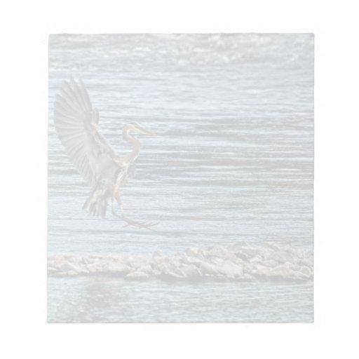 Diseño de aterrizaje de Birdlover de la fauna de l Blocs De Notas