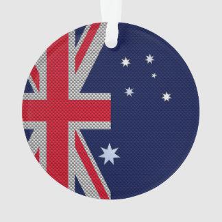 Diseño de Australia en estilo del cromo de la