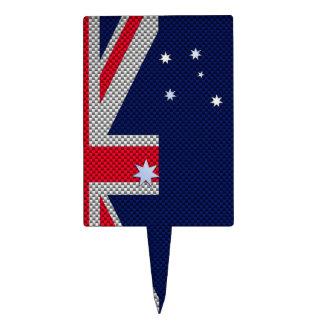 Diseño de Australia en estilo del cromo de la Decoración Para Tarta