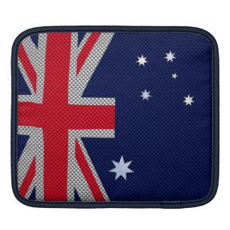 Diseño de Australia en estilo del cromo de la Manga De iPad