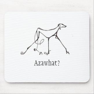 Diseño de Azawakh Mousepad de David Moore