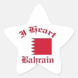Diseño de Bahrein Pegatina En Forma De Estrella