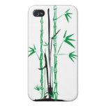 Diseño de bambú iPhone 4 fundas