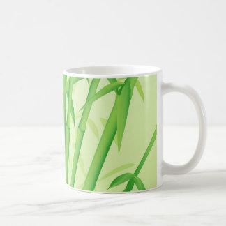 Diseño de bambú tazas de café