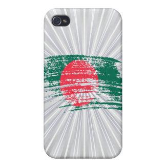 Diseño de Bangladesh fresco de la bandera iPhone 4/4S Carcasa