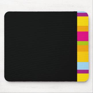 Diseño de bloque moderno brillante coloreado multi mouse pad