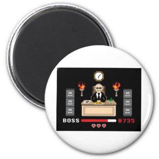 """Diseño de """"Boss"""" del pixel - GeekShirts Imán Para Frigorífico"""