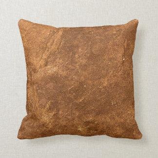 Diseño de Brown de la piedra arenisca Cojín