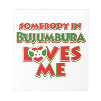 Diseño de Burundi Bloc De Notas