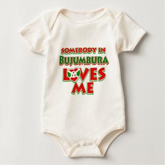 Diseño de Burundi Body Para Bebé