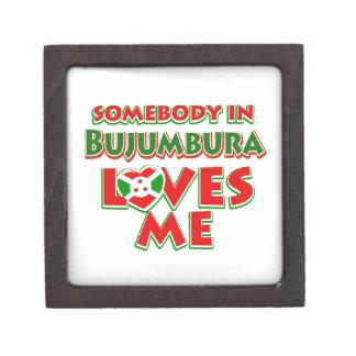 Diseño de Burundi Caja De Recuerdo De Calidad
