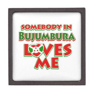 Diseño de Burundi Caja De Regalo De Calidad