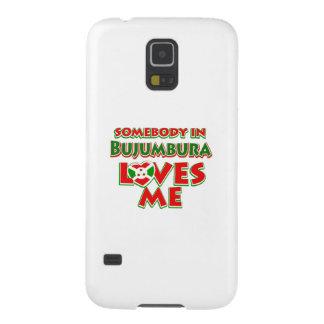 Diseño de Burundi Funda Galaxy S5