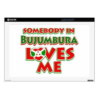 Diseño de Burundi Portátil Calcomanías