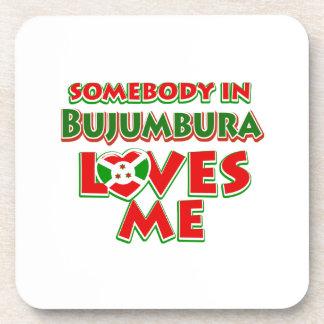 Diseño de Burundi Posavasos De Bebidas