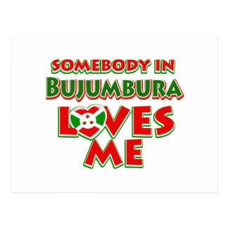 Diseño de Burundi Postal