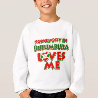 Diseño de Burundi Sudadera