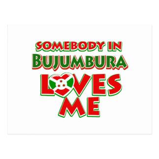 Diseño de Burundi Tarjetas Postales
