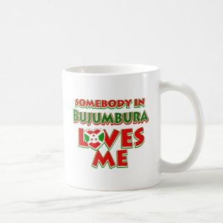 Diseño de Burundi Taza De Café