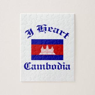 Diseño de Camboya Puzzles