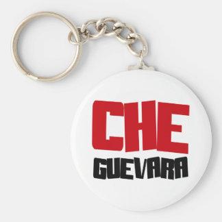Diseño de Che Guevara Llavero Redondo Tipo Pin