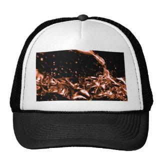 Diseño de cobre derretido fantástico gorras