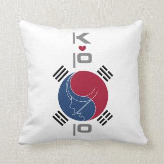 Diseño de COREA del Ala de Stream-Art_K-POP Cojines
