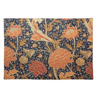 Diseño de Cray del papel pintado de William Morris Manteles Individuales