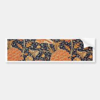 Diseño de Cray del papel pintado de William Morris Pegatina Para Auto