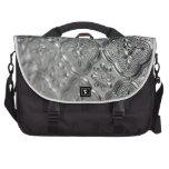 Diseño de cristal de plata adornado bolsas de portatil