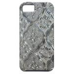Diseño de cristal de plata adornado iPhone 5 Case-Mate protector