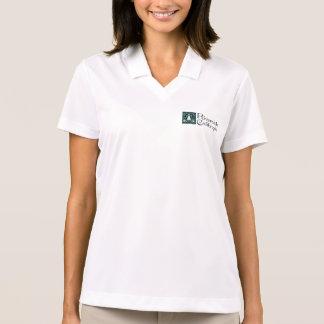 diseño de cristal Tri manchado de Raincross de la Polo Tshirt
