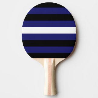 DISEÑO DE CUERO de las RAYAS del ORGULLO - 2014 Pala De Tenis De Mesa
