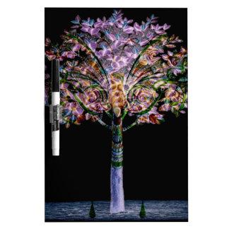 Diseño de Digitaces del árbol de la fantasía Tableros Blancos