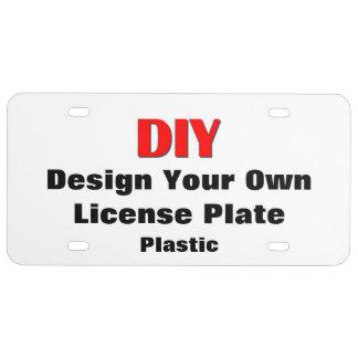 Diseño de DIY su propia placa de encargo V02 Placa De Matrícula