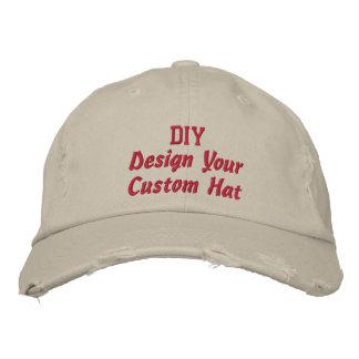 Diseño de DIY su propio Accesssory de encargo V4 Gorras Bordadas