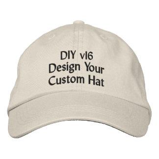Diseño de DIY su propio gorra de béisbol de
