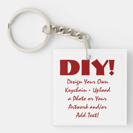 Diseño de DIY su propio llavero de encargo