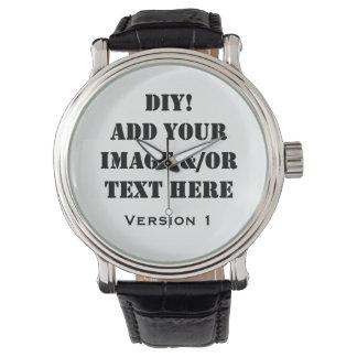 Diseño de DIY su propio regalo de encargo Relojes De Mano
