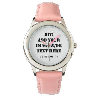Diseño de DIY su propio regalo de encargo Verson Reloj