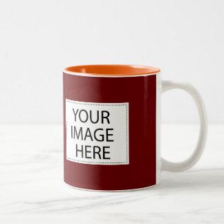 Diseño de DIY su propio regalo marrón y anaranjado
