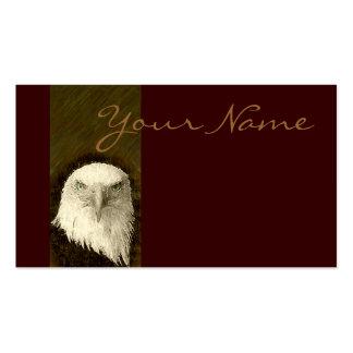Diseño de Eagle calvo Tarjetas De Visita