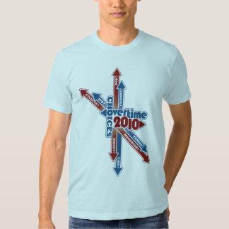 Diseño de en horas extras 2010 opciones camisas