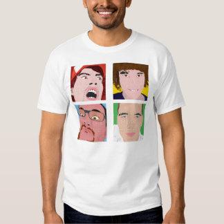 Diseño de encargo de la camisa de los hombres de l