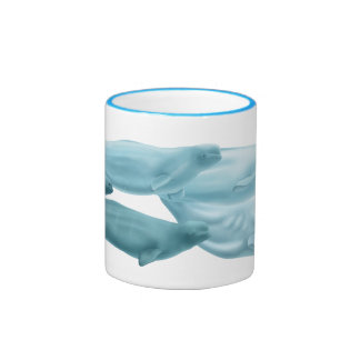 Diseño de encargo de la taza de la beluga para K