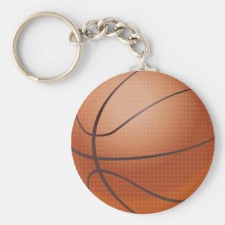 Diseño de encargo del baloncesto llavero redondo tipo pin