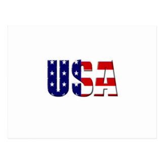 Diseño de encargo del logotipo de los E.E.U.U. Postales